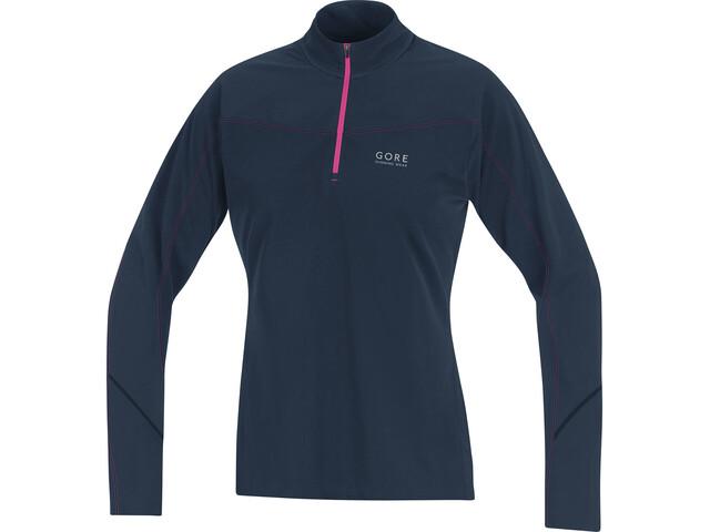 2545c1b0c22 GORE RUNNING WEAR Essential Hardloopshirt lange mouwen Dames blauw I ...